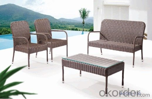 Garden swing seats outdoor furniture (6+1)