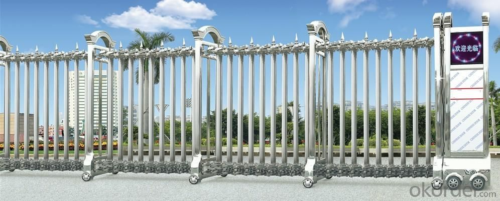 cheap automatic sliding gate for government