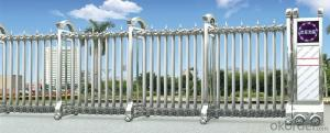 super  automatic sliding gate for government