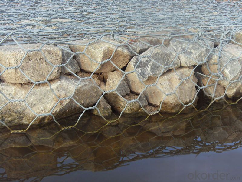 Electro Galvanized Gabion Box For Stone