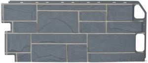 Exterior wall cladding  stone