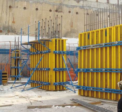 Timber beam wall & column formwork