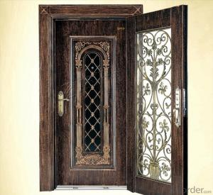 Steel Security Door Manufacturer for exporting