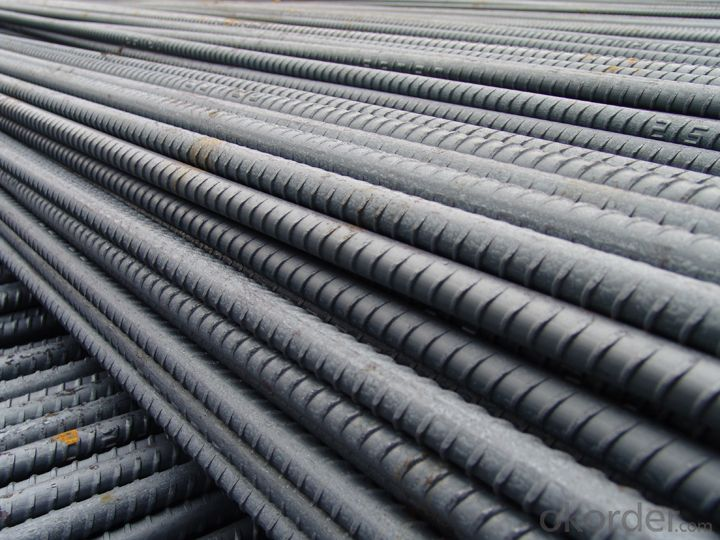 Hot Rolled Steel Rebars GB standard