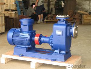 ZX Type self priming centrifugal EX-Proof motor pump