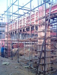 Timber Beam Column Formwork in First Class