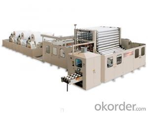 YD-PL400 Non-stop Toilet Roll Rewinding Line