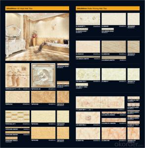 Wholesale Various Size and Colors Ceramic Wall and Floor Tiles