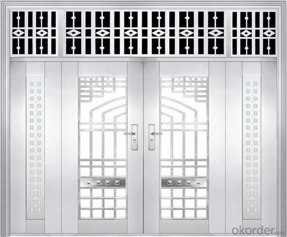 hot sale  steel door latest design steel security door