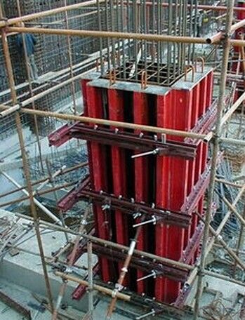 High-end Timber Beam Column Formwork in Good Quality