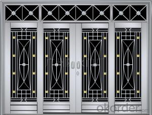 Steel Security Door / Metal Door / Iron Door