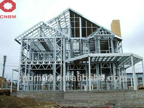 light steel structure prefab houses