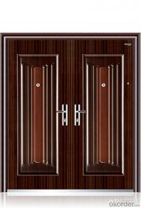 Steel security doors made in china