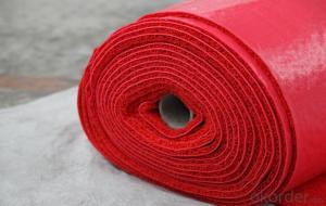 PVC coil mat and roll( carpet), red pvc carpet roll