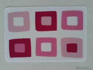 Good Quality Nylon Printed Mat Used in Door , Bathroom