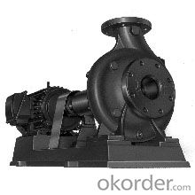 Single-stage Single-suction Horizontal Centrifugal Pump ISB