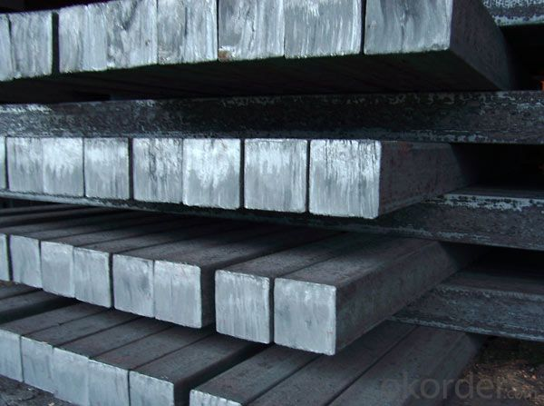 Alloyed  steel square bar