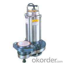Stainless Steel Submersible Solid Handling Pump CSS Series