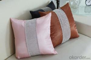 Luxury Wholesale Printned Pillow Case Use in Hotel , Home