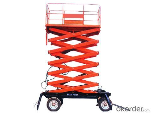 YHXScissors Aerial Work Platform High quality and cheap