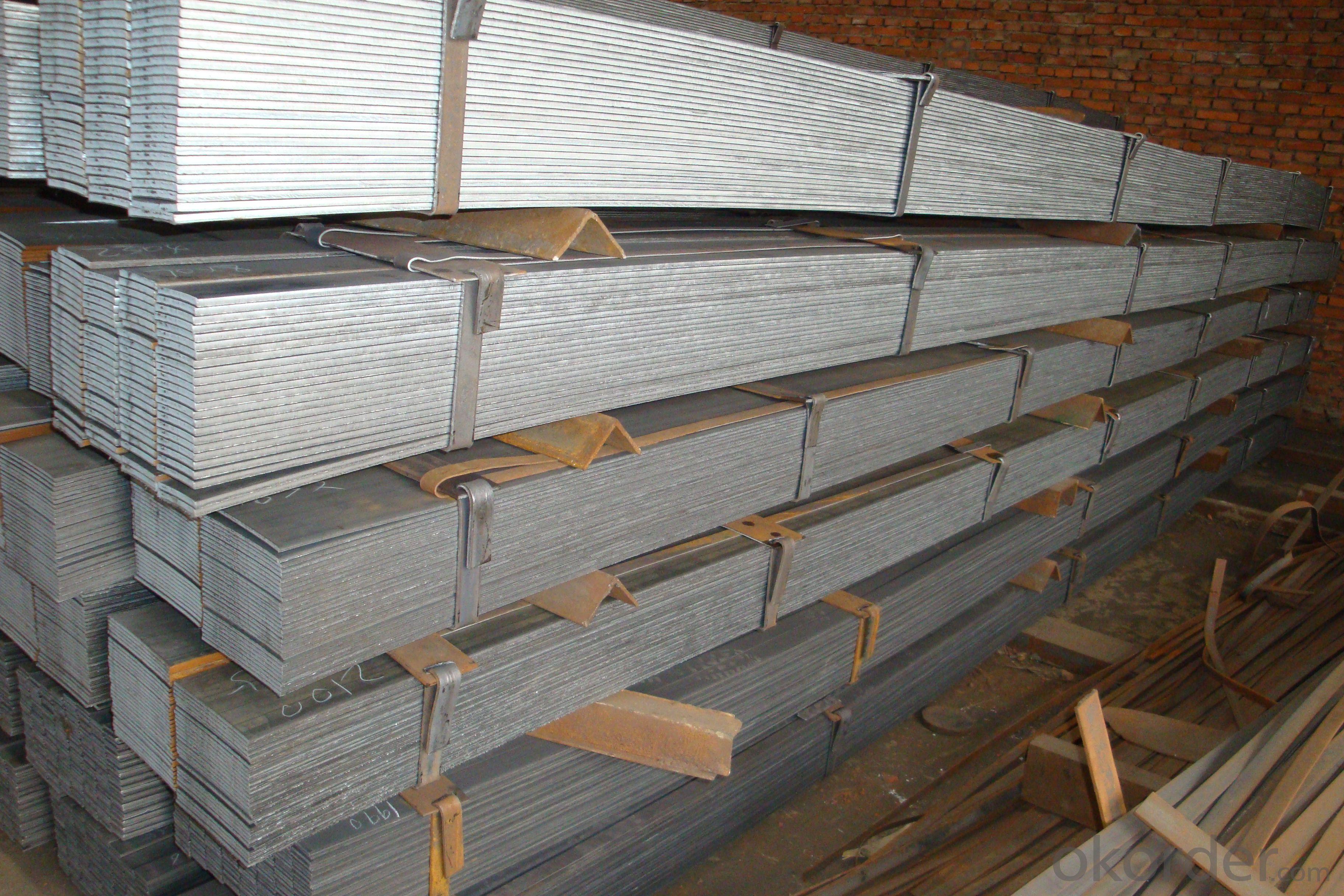 Alloyed flat bar-steel