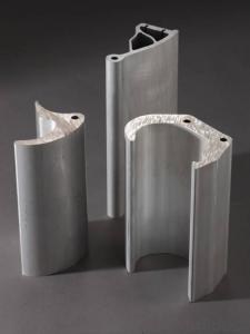 Aluminum profiles for electric