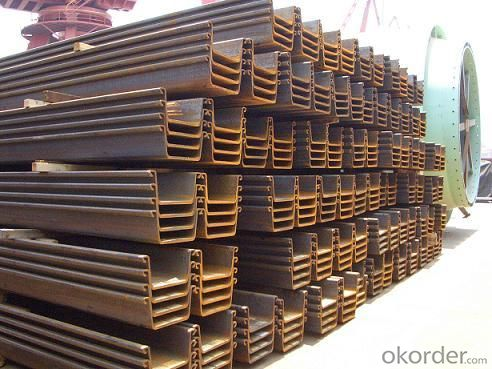 High Quality Steel Sheet Pile-FSP-Ⅳ-12m/FSP-Ⅳ-18m