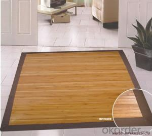 Customed Printed Bamboo Carpet  with Good Quality