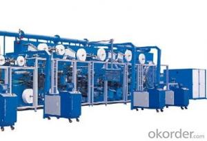 Full-servo Control Sanitary Napkin Production Line