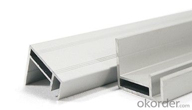 Solar module aluminum frame