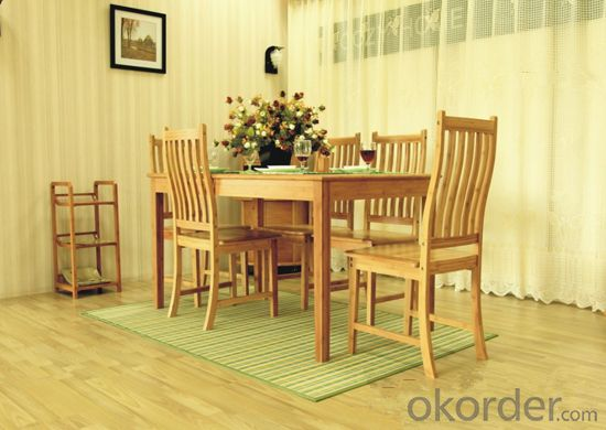 Printed Bamboo Carpet for Table , Chair and Bedroom