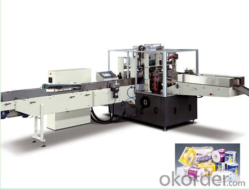 DC-35A Full Automatic soft type facial tissue Packing Machine