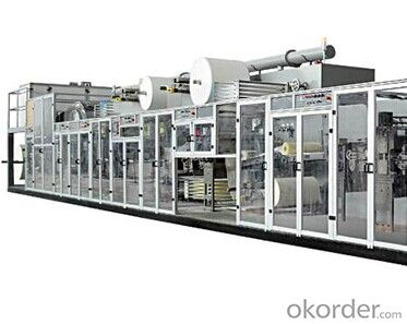 Full-servo Control Underpad & Pet Mattress Production Line