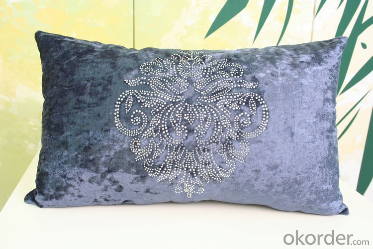Wholesale Cotton Fabric Pillow  with Inside Pillow