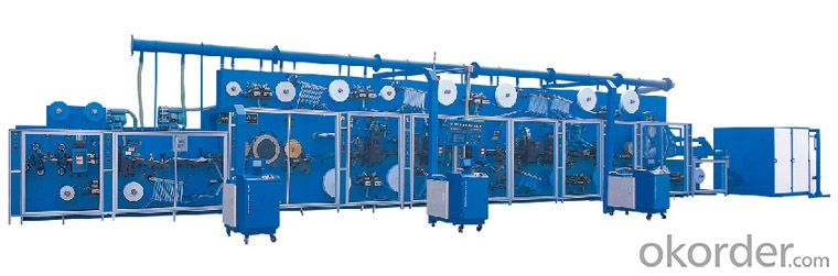 Full-servo Control Horizonal Panty Liner Production Line