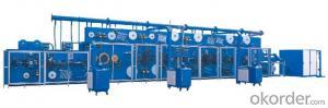 Full-servo Control Horizonal Panty Liner Production Line