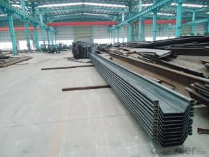 Cold Rolled Sheet Piles