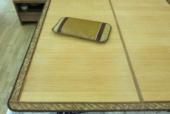 Natural Color or Printed Color Bamboo Bed