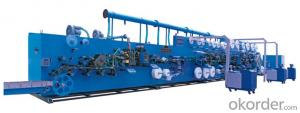 Bar Type Package Winged Sanitary Napkin Production Line