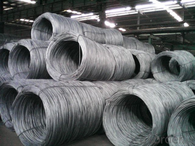 Low Carbon Steel Wire Rod in Coil
