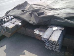 Alloyed flat bar