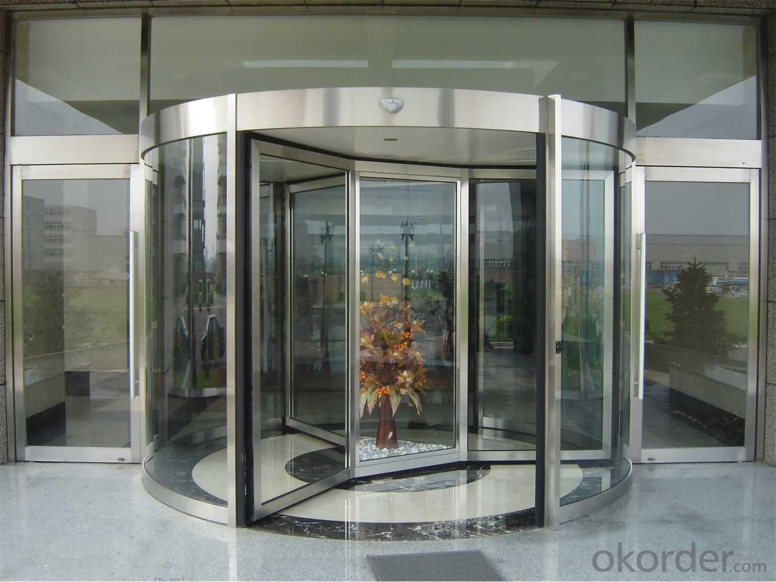 Chinese new automatic revolving door