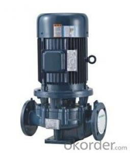 SGL Single Stage Single Suction Vertical Centrifugal Pump
