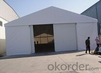 PVC Material Warehouse Frame Workshop Tent