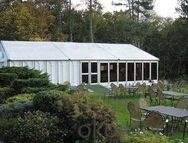 Outdoor aluminum dining tent