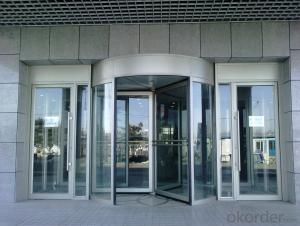 automatic revolving door 2014 for exporting with good quality