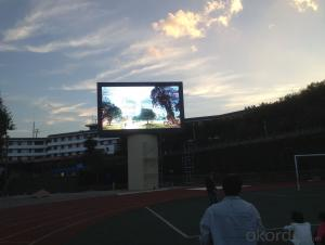 P10 Outdoor Full Color LED Display