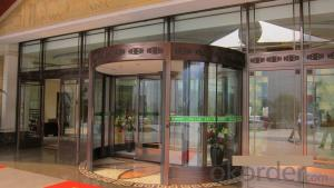 All Glass Automatic  Revolving Door