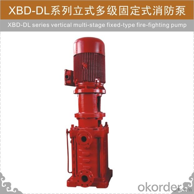 XBD-DL Fire-fighting Pump
