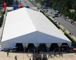 Outdoor exhibition marquee tent pvc fabric